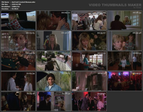 And God Created Woman (1988) screencaps