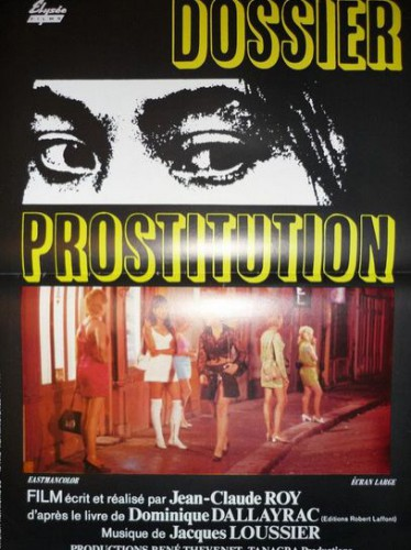 Dossier prostitution (1970) cover