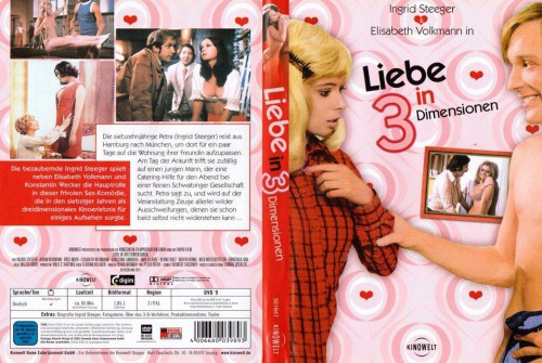 Liebe in drei Dimensionen (Better Quality) (1973) cover
