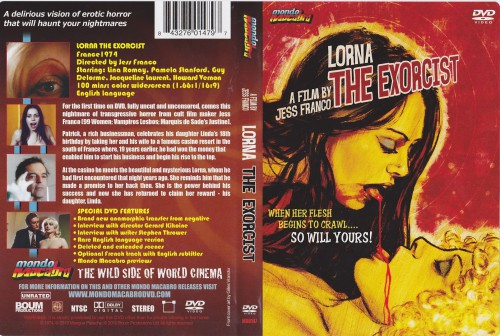 Lorna The Exorcist (Better Quality) (1974) cover