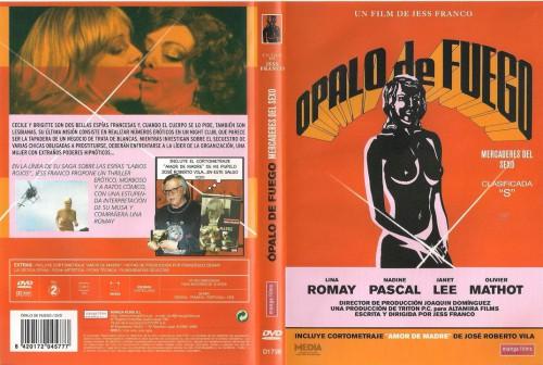 Opalo de fuego: Mercaderes del sexo (1980) cover