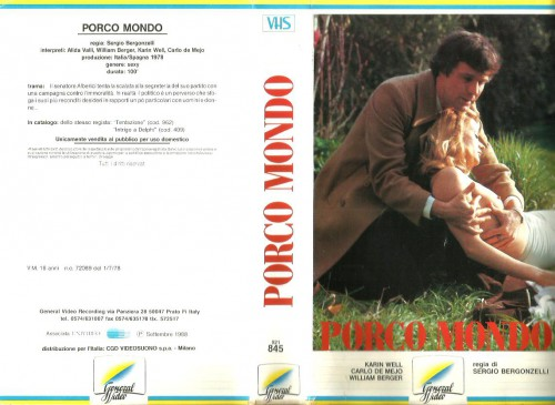 Porco mondo (Better Quality) (1978) cover