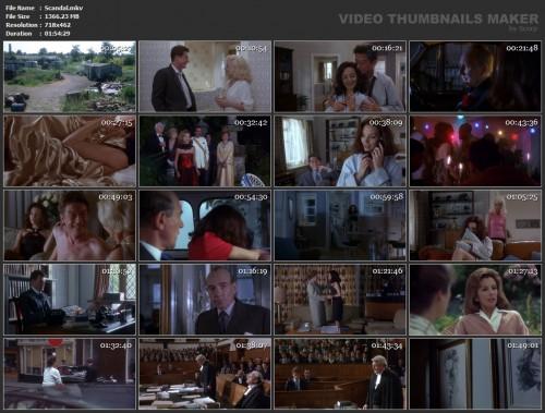 Scandal (1989) screencaps