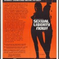 Sexual Liberty Now (Better Quality) (1981) cover