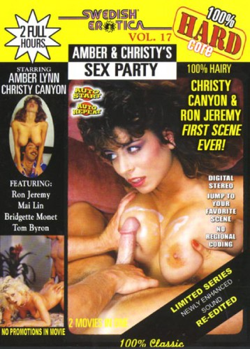 Swedish Erotica Hard 17: Amber & Christy's Sex Party (1993) cover