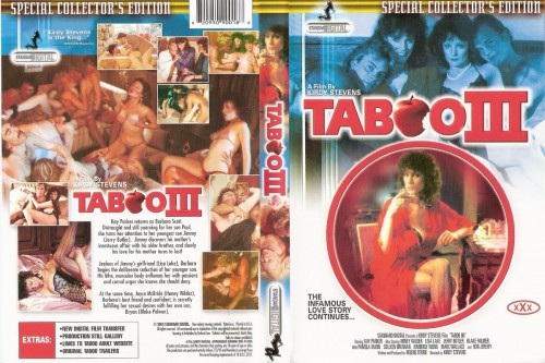 Taboo III (1984) cover