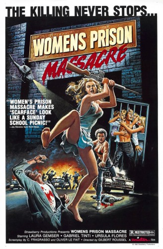 Women's Prison Massacre (1983) cover