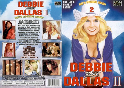 Debbie Does Dallas 2 (Better Quality) (1981) cover