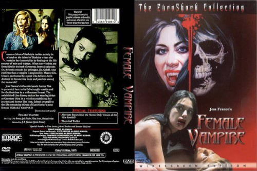 Female Vampire (BDRip) (1975) cover