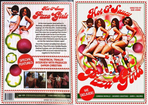 Hot and Saucy Pizza Girls (HDRip) (1978) cover