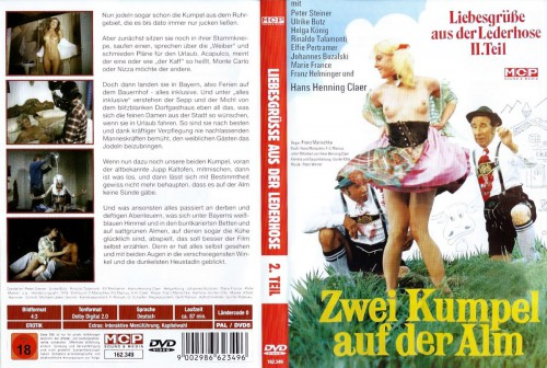 Liebesgrusse aus der Lederhose 2: Zwei Kumpel auf der Alm (1974) cover