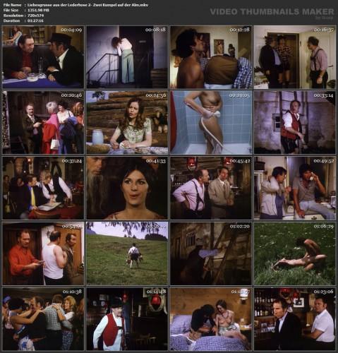 Liebesgrusse aus der Lederhose 2: Zwei Kumpel auf der Alm (1974) screencaps