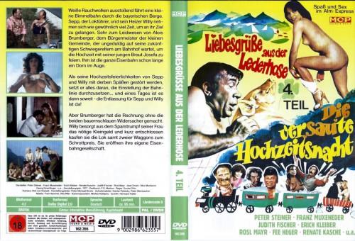 Liebesgrusse aus der Lederhose 4: Die versaute Hochzeitsnacht (1978) cover