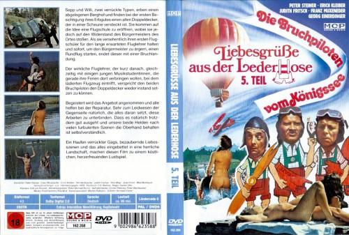 Liebesgrusse aus der Lederhose 5: Die Bruchpiloten vom Konigssee (1978) cover