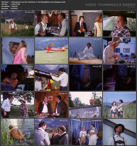 Liebesgrusse aus der Lederhose 5: Die Bruchpiloten vom Konigssee (1978) screencaps
