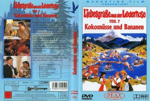 Liebesgrusse aus der Lederhose 7: Kokosnusse und Bananen (1992) cover