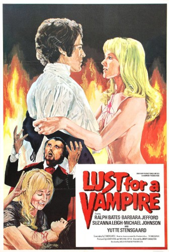 Lust for a Vampire (1971) cover