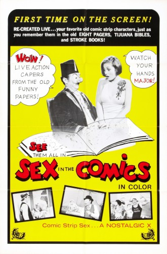 Sex In The Comics (1972) cover