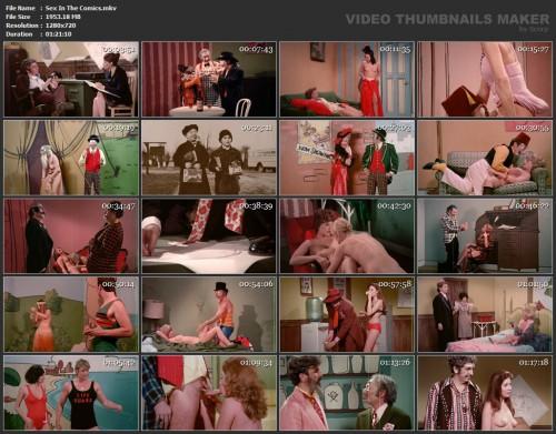 Sex In The Comics (1972) screencaps