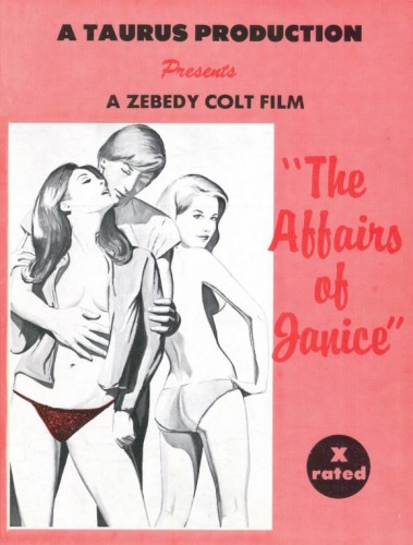 The Affairs Of Janice (1976) cover