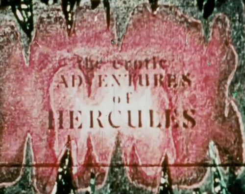 The Erotic Adventures Of Hercules (1971) cover