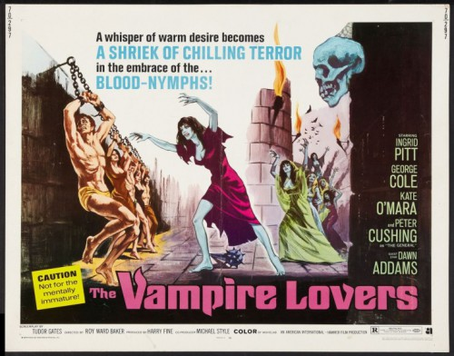 The Vampire Lovers (1970) cover