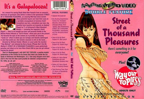 Way Out Topless (1967) cover