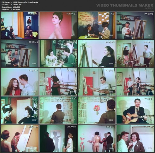 1000 Shapes of a Female (1963) screencaps