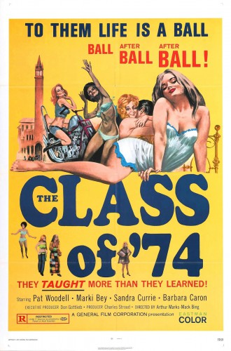 Class of '74 (1972) cover