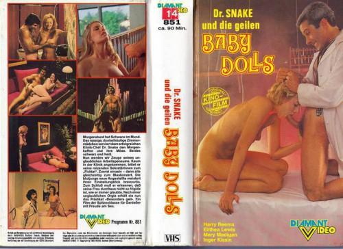 Dr. Snake und die geilen Baby Dolls (1973) cover