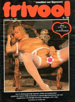 Frivool 73 (Magazine) cover