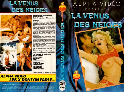 La Venus Des Neiges (Magazine) cover