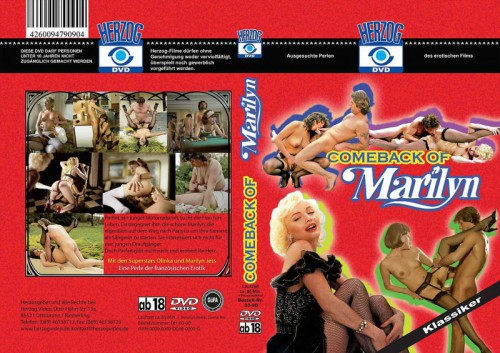 Le retour de Marilyn (1984) cover