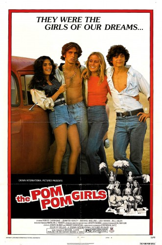 The Pom Pom Girls (1976) cover