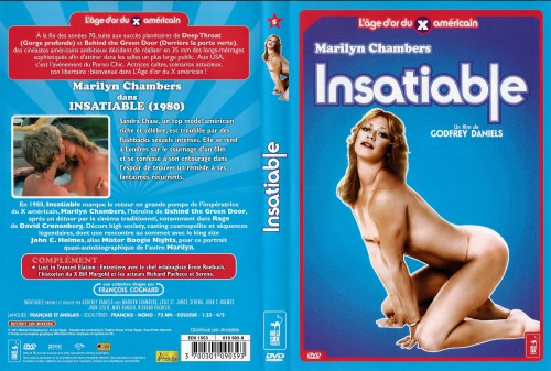 Insatiable (1980) cover