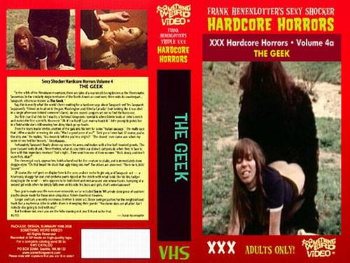 The Geek (Better Quality) (1971) cover