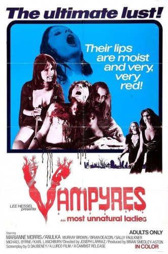 Vampyres 331x500 - A Thousand and One Nights (1974)
