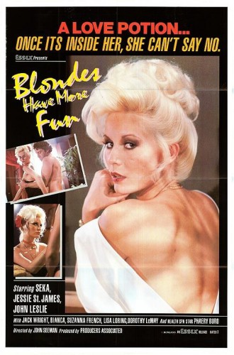 Blondes Have More Fun (1979) cover
