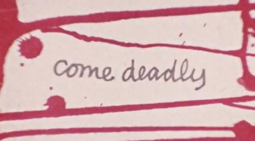 Come Deadly (1973) cover