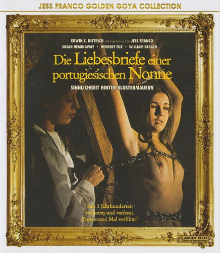 Die Liebesbriefe einer portugiesischen Nonne (1977) cover