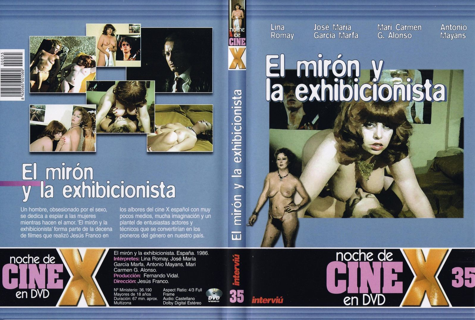 El Miron Y La Exhibicionista 1986 Dvdrip 900mb Free Download