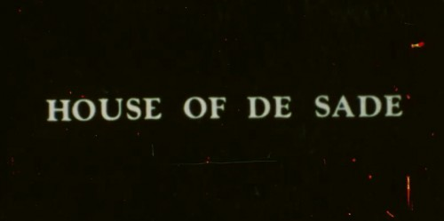 House of De Sade (Better Quality) (1977) cover