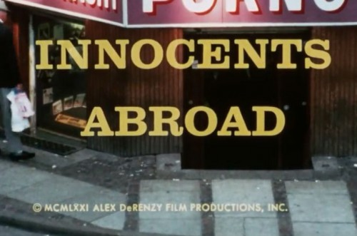 Innocents Abroad 500x331 - Mania (1971)