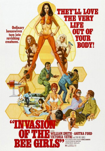 Invasion of the Bee Girls (1973) cover