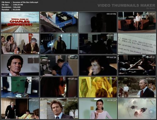 Invasion of the Bee Girls (1973) screencaps
