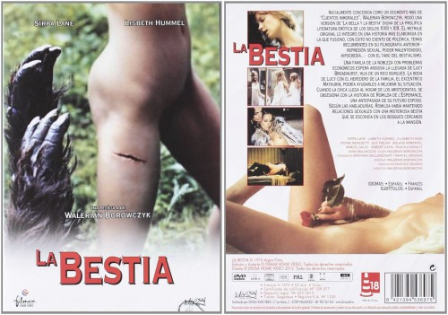 La Bete (BDRip) (1975) cover