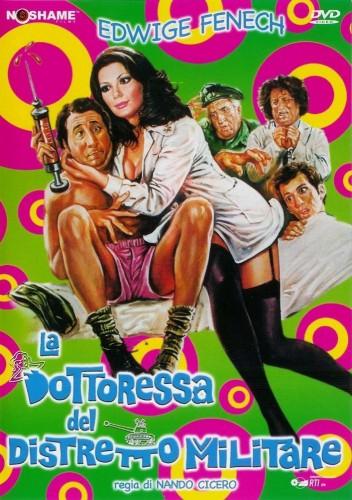 La dottoressa del distretto militare (1976) cover