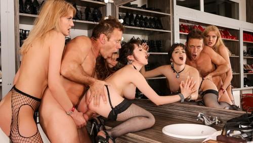RoccoSiffredi.com - Natty Mellow, Bree Haze (Rocco's Perfect Slaves 11, Scene 3) cover