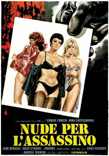 Nude per l'assassino (1975) cover