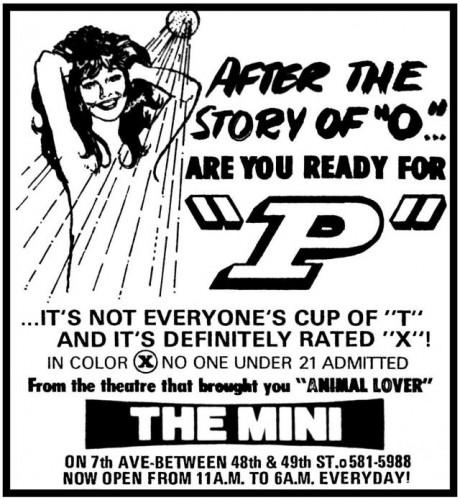 P better 460x500 - P (Better Quality) (1974)